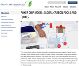 Poker Chip Model: Global Carbon Pools and Fluxes