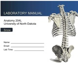 """Anatomy 204L: Laboratory Manual (First Edition)"" by Ethan Snow"