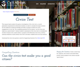 C3 Civics Test Inquiry