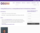 Using StatCrunch as a Computational Tool in Introductory Statistics