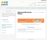 Chemical Reactions Videos