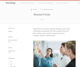 Teach Design: Related Fields