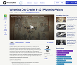 Wyoming Day Grades 6-12
