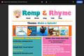 Romp & Rhyme Storytime Parent Activity Sheet: Make a Splash!