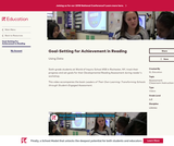Goal-Setting for Achievement in Reading