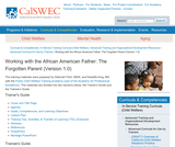 Working with the African American Father: The Forgotten Parent (Version 1.0)