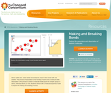 Concord Consortium: Making and Breaking Bonds