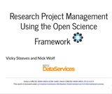 Research Project Management Using the Open Science Framework