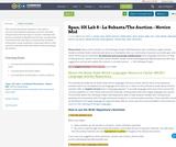 La Subasta/The Auction- Spanish, Novice Mid