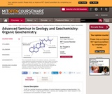 Advanced Seminar in Geology and Geochemistry: Organic Geochemistry, Fall 2005