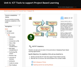 ICT Tools to support Project Based Learning