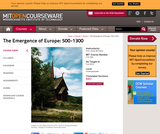 The Emergence of Europe: 500-1300, Fall 2003