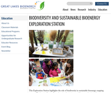 Biodiversity and Sustainable Bioenergy Exploration Station