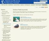 Field Journal: Field Journals
