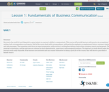 Lesson 1: Fundamentals of Business Communication
