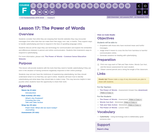CS Fundamentals 6.17: The Power of Words
