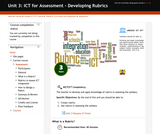 ICT for Assessment - Developing Rubrics