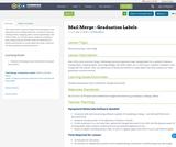 Mail Merge - Graduation Labels