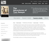 The Adventures of Tom Sawyer by Mark Twain - Teacher's Guide