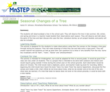 Seasonal Changes of a Tree