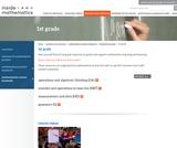 1st Grade Content Standards