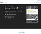 Pop-up Retail Strategies in an Omnichannel Context