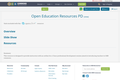 Open Education Resources PD