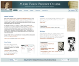 Mark Twain Project Online