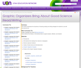 Graphic Organizers Bring About Good Science Read/Writng