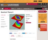 Quantum Theory II, Spring 2003