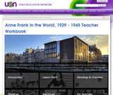 Anne Frank in the World, 1929 - 1945, Teacher Workbook