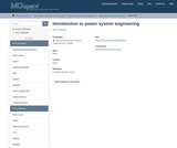 Introduction to power system engineering