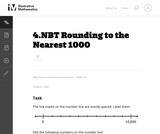 4.NBT Rounding to the Nearest 1000
