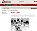 Reading Like a Historian: Political Bosses