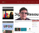 Digital Learning Resources and Open Educational Resources
