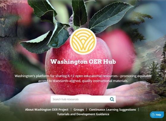 Washington OER Hub Information