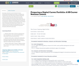 Preparing a Digital Career Portfolio: A HS Career Seminar Lesson