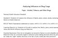 Analyzing Influences on Drug Usage