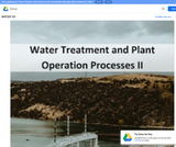 Water Treatment Plant Operation Processes II