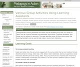 Various Group Activities Using Learning Assistants