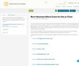 Short Business Ethics Cases for Use in Class