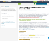 Let's go to the Bank Part 1, English Template Intermediate Mid