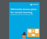 Wikimedia lesson plans for remote learning