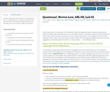 Questions!, Novice Low, ASL 101, Lab 02