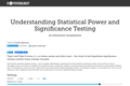 Understanding Statistical Power and Significance Testing — an Interactive Visualization
