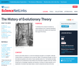 The History of Evolutionary Theory