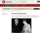 Reading Like a Historian: Truman and MacArthur