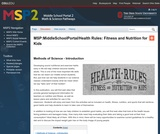 Health rules!: fitness and nutrition for kids