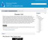 Theater I Q1