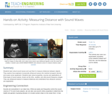 Measuring Distance with Sound Waves